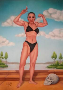 """""""La fuerza de Ernestine"""", 100x70cm"""